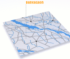 3d view of Barka Gaon