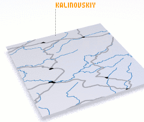 3d view of Kalinovskiy