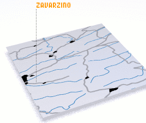 3d view of Zavarzino