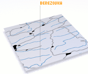 3d view of Berëzovka
