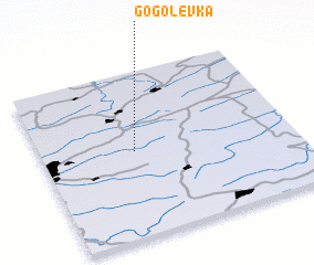 3d view of Gogolevka