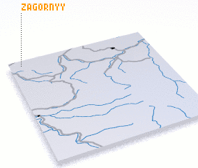3d view of Zagornyy