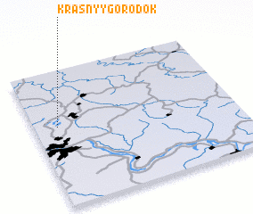 3d view of Krasnyy Gorodok