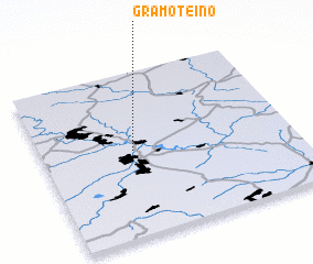 3d view of Gramoteino