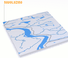 3d view of Novoluzino