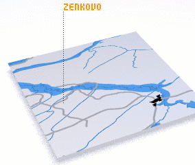 3d view of Zenkovo