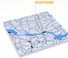 3d view of Bijaynagar