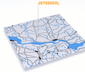 3d view of Jote Gokul