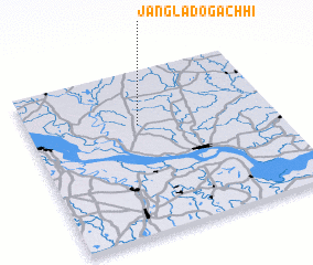 3d view of Jangla Dogāchhi