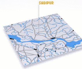 3d view of Sādipur
