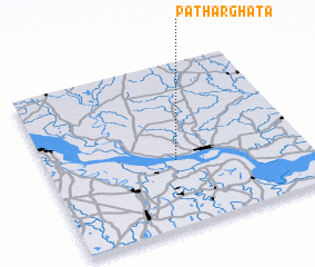 3d view of Pātharghāta