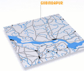 3d view of Gobindapur