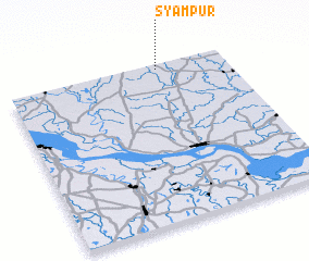 3d view of Syāmpur