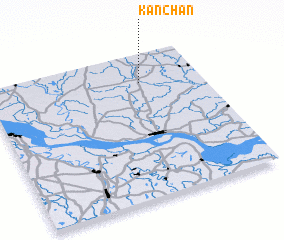 3d view of Kānchan