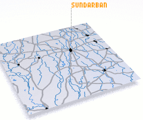 3d view of Sundarban