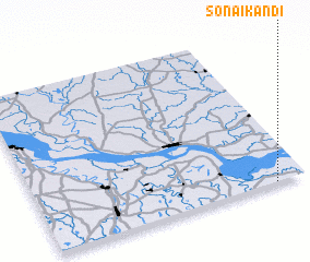 3d view of Sonāikāndi