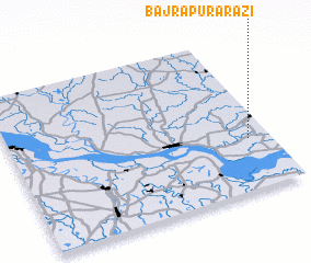 3d view of Bajrāpur Ārāzi