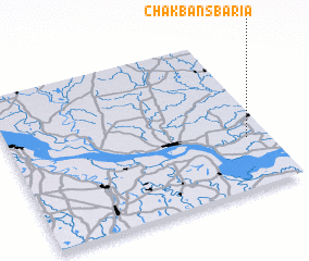 3d view of Chak Bānsbāria