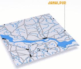 3d view of Jamālpur