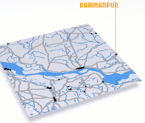 3d view of Rahimānpur
