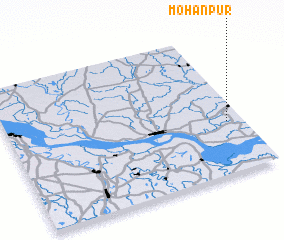 3d view of Mohanpur