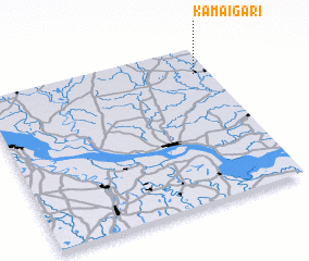 3d view of Kamāigāri