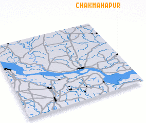 3d view of Chak Mahāpur