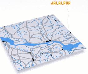 3d view of Jālālpur