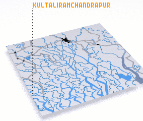 3d view of Kultali Rāmchandrapur