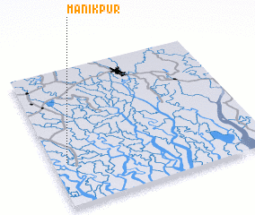 3d view of Mānikpur