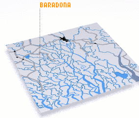 3d view of Baradona