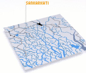 3d view of Sankarkāti