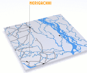 3d view of Merigāchhi