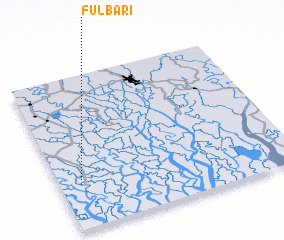 3d view of Fulbāri