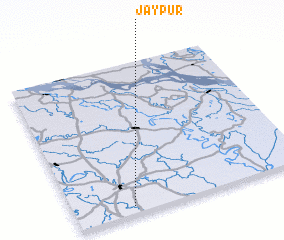 3d view of Jaypur