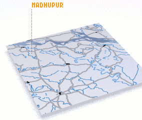 3d view of Madhupur