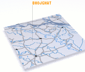 3d view of Bhojghāt