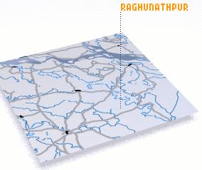 3d view of Raghunāthpur