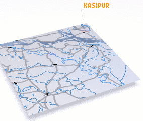 3d view of Kāsipur