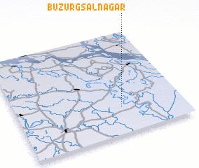 3d view of Buzurg Sālnagar
