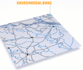 3d view of Khurd Mandalbhāg
