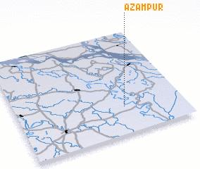 3d view of Āzampur