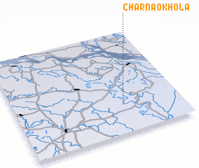 3d view of Char Naokhola