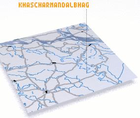 3d view of Khās Char Mandalbhāg