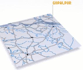 3d view of Gopālpur
