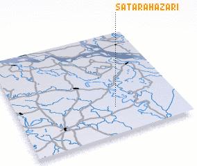 3d view of Satara Hāzāri