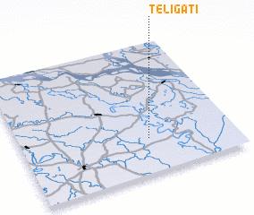 3d view of Teligāti