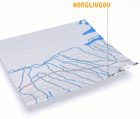3d view of Hongliugou