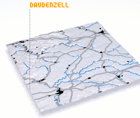 3d view of Daudenzell