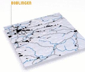 3d view of Böblingen